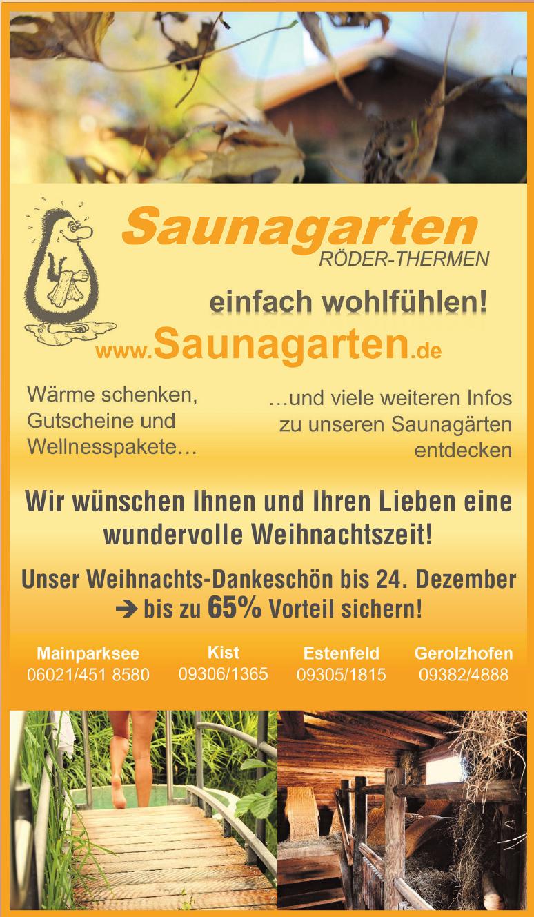 Saunagarten Röder-Thermen