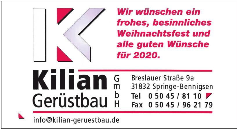 Killian GmbH Gerüstbau