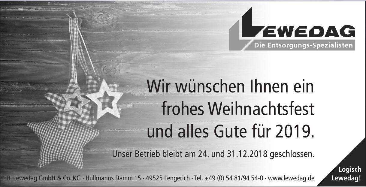 B. Lewedag GmbH & Co. KG
