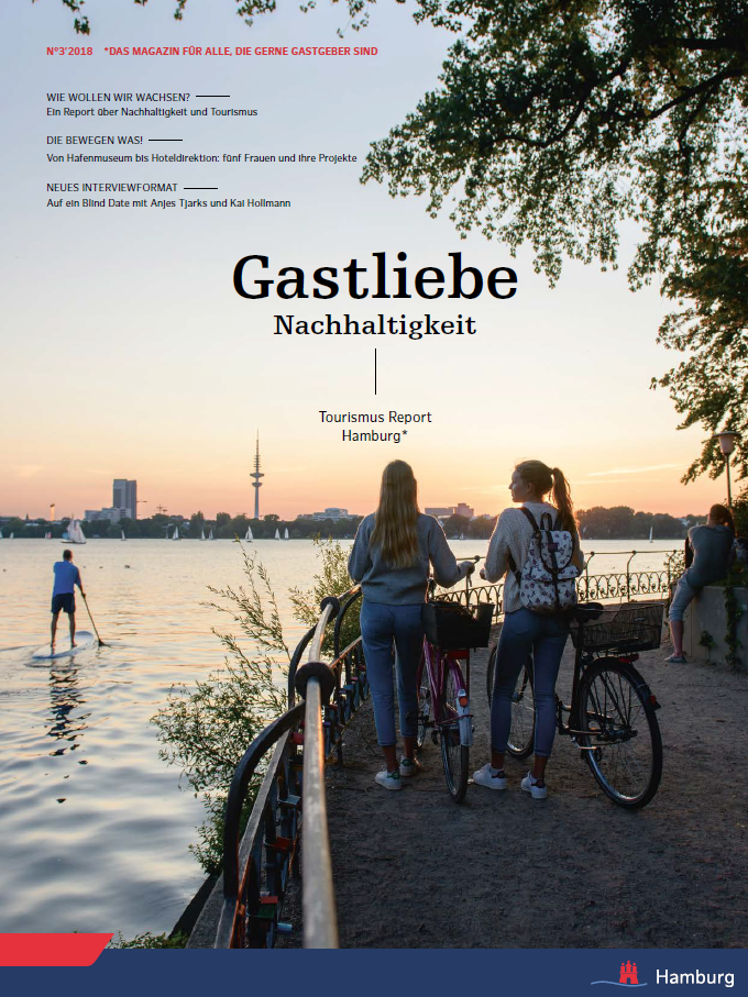 Tourismus Report Hamburg 3/2018 Gastliebe Nachhaltigkeit