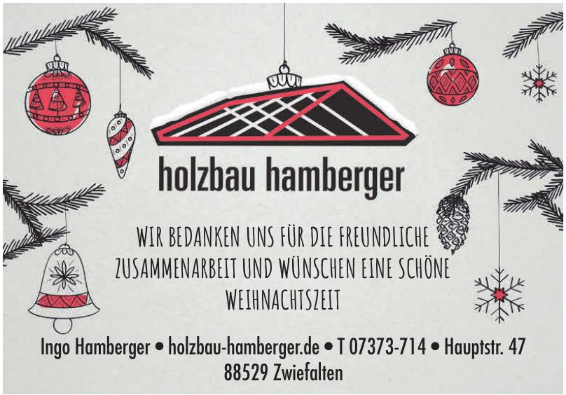 Holzbau Ingo Hamberger