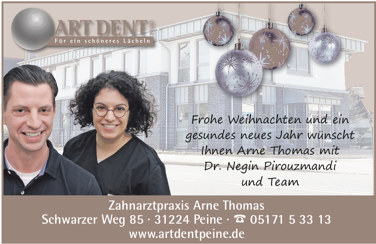 Art Dent  Zahnarztpraxis Arne Thomas