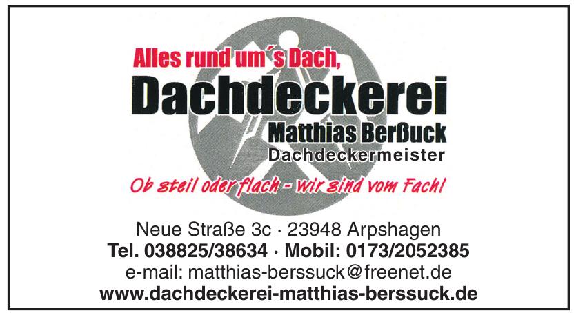 Dachdeckerei Matthias Berßuck