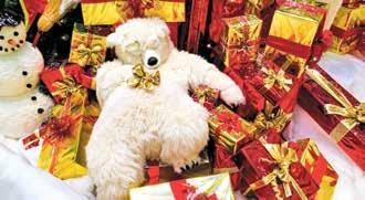 Die polaren Welten spielen eine wichtige Rolle in der vorweihnachtlichen Marktplatz Galerie Bramfeld