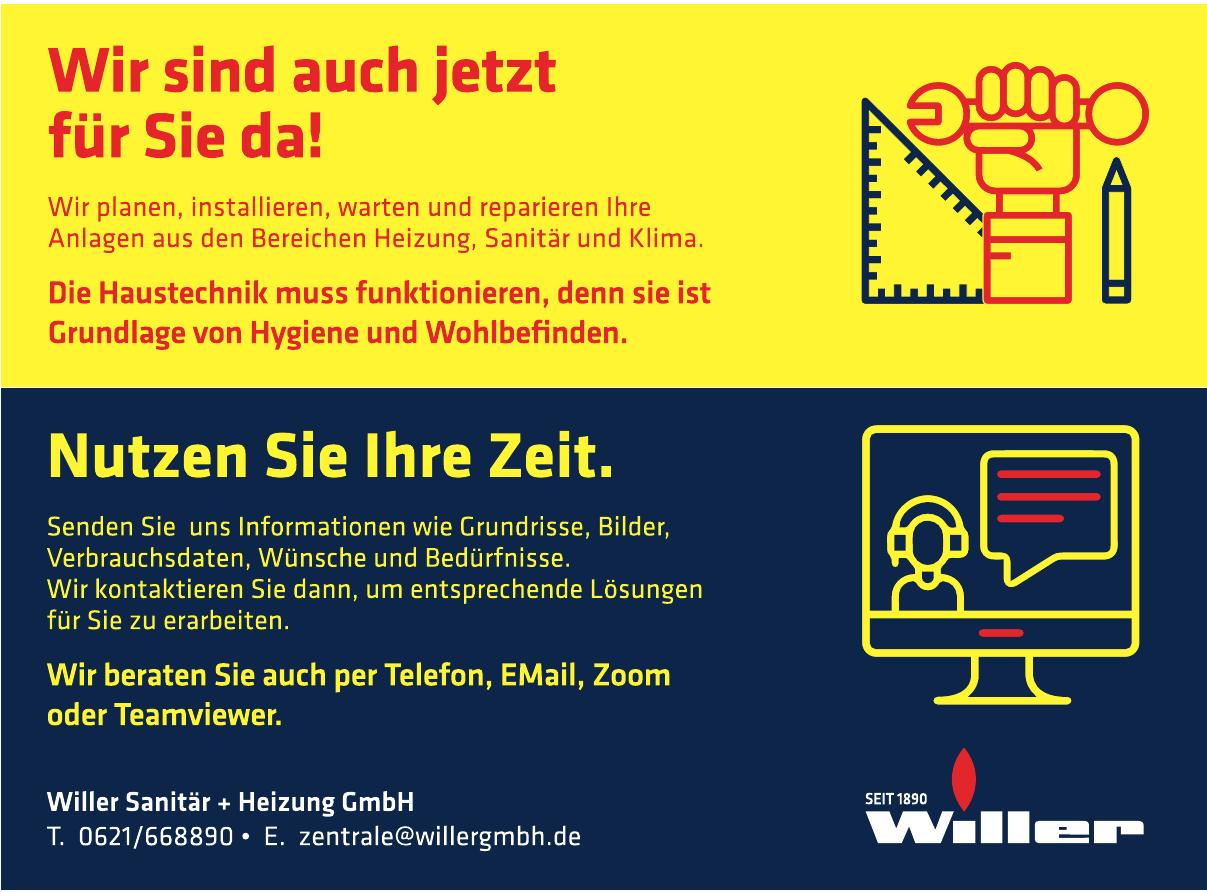 Willer Sanitär + Heizung GmbH