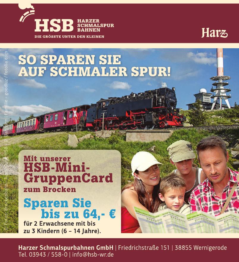 Harzer Schmalspurbahnen GmbH