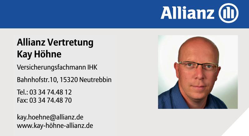 Allianz Vertretung Kay Höhne