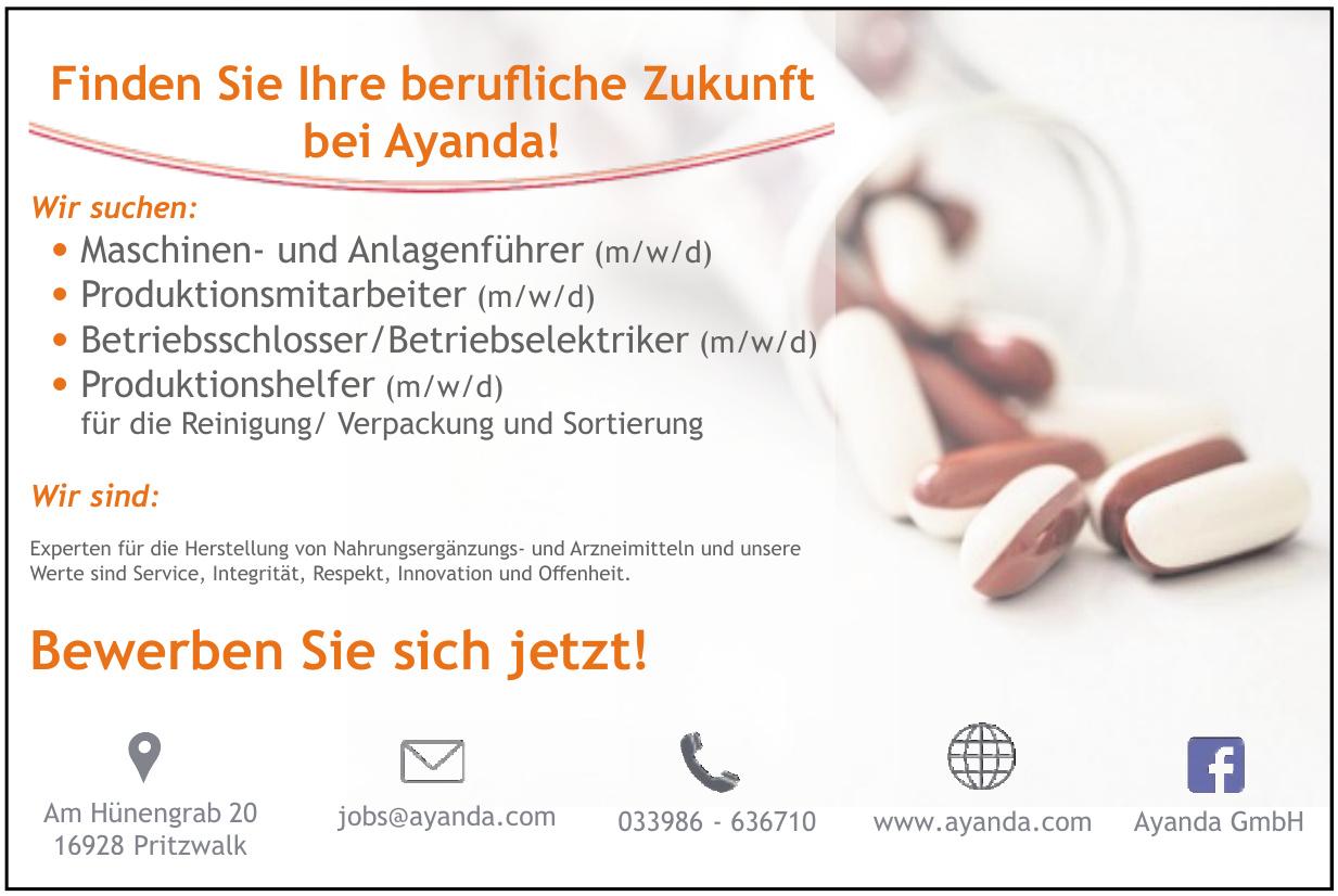 Ayanda GmbH