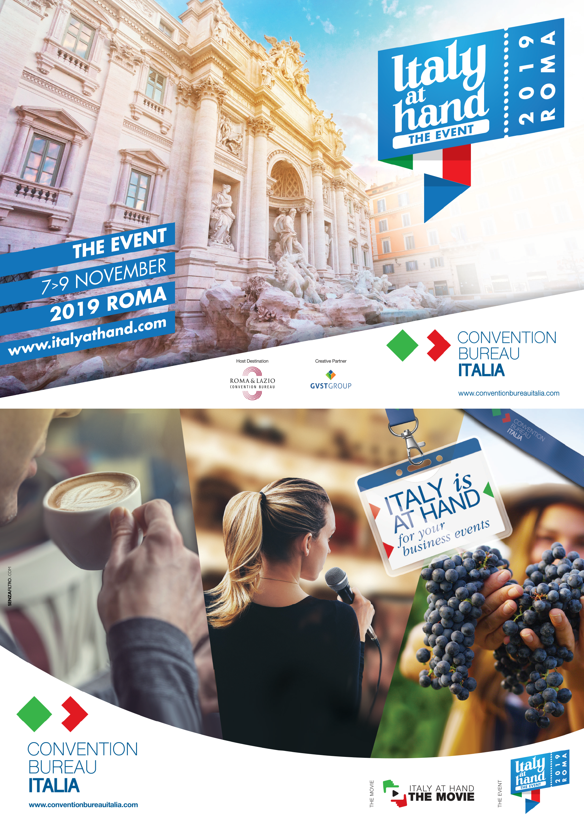 Italy at Hand, The Event by Convention Bureau Italia