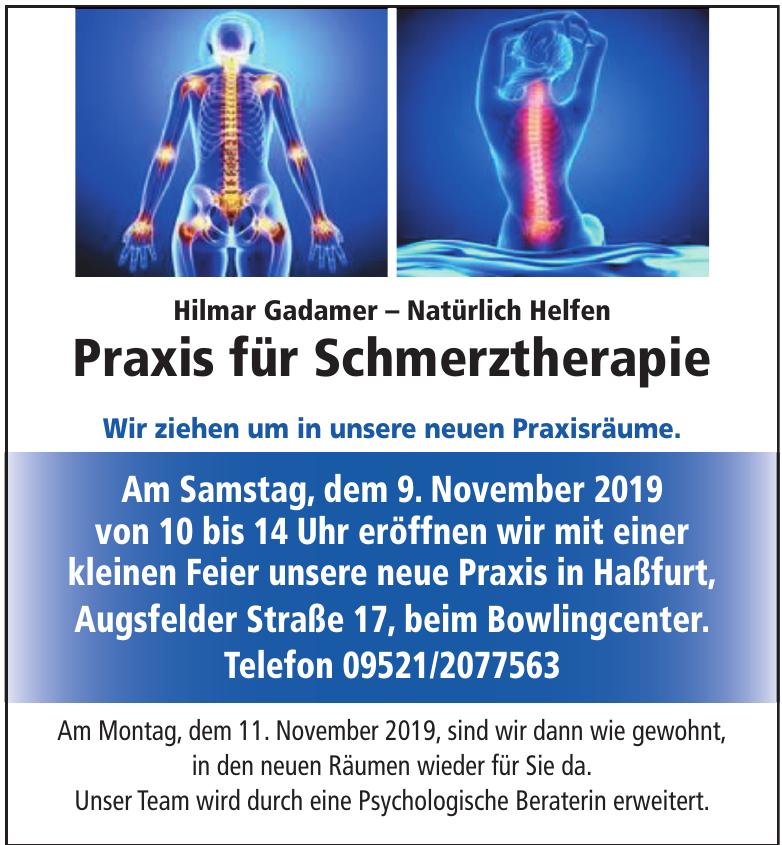 Hilmar Gadamer – Praxis für Schmerztherapie