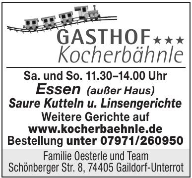 Gasthof Kocherbähnle