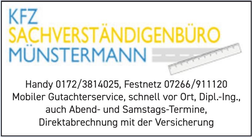 Kfz-Sachverständigenbüro Münstermann