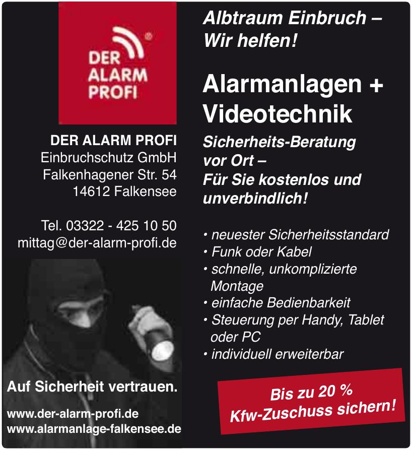 Der Alarm Profi - Einbruchschutz GmbH
