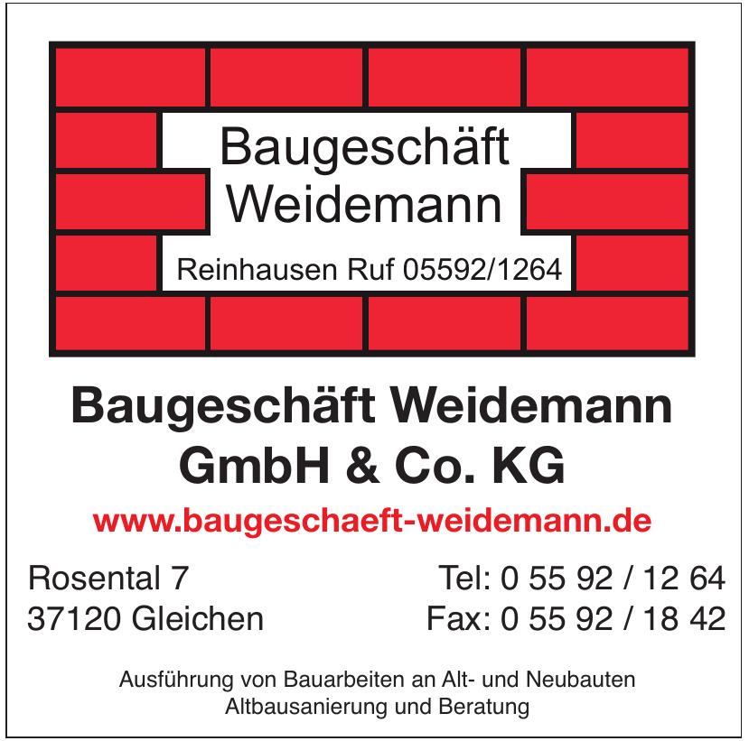 Baugeschäft Weidemann GmbH & Co. KG