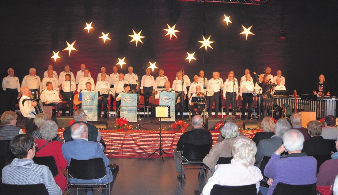 6. Adventskonzert vom Maritimen Chor Wolfsburg Image 1