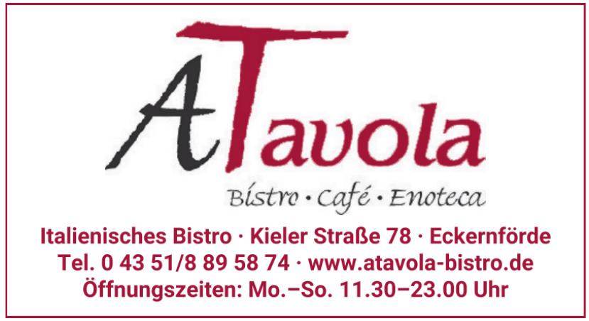 ATavola Bistro Café Enoteca
