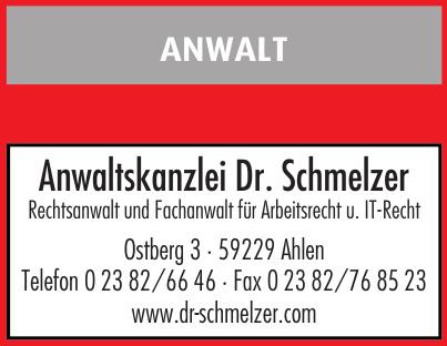 Anwaltskanzlei Dr. Schmelzer