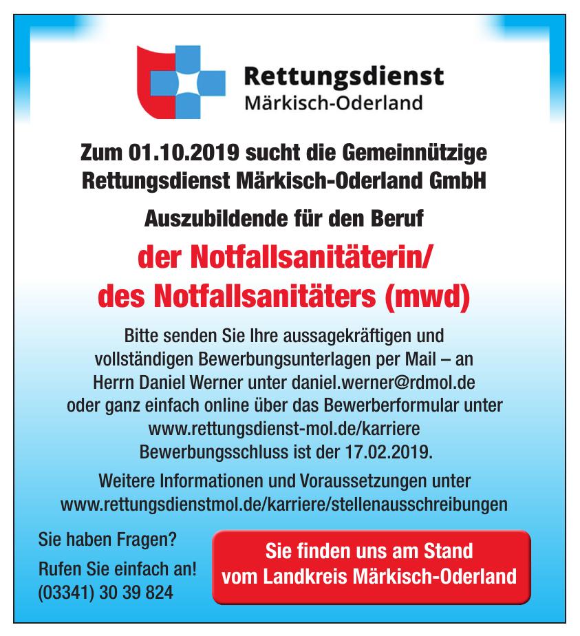 Gemeinnützige Rettungsdienst Märkisch-Oderland GmbH