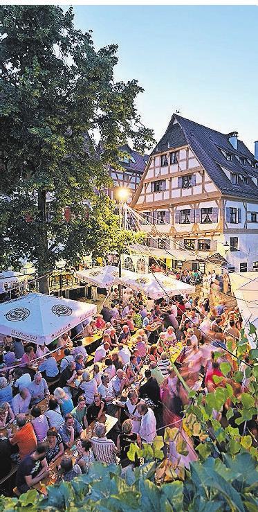 Bei Festen ist viel los im Fischerviertel. Foto: Stadtarchiv Ulm