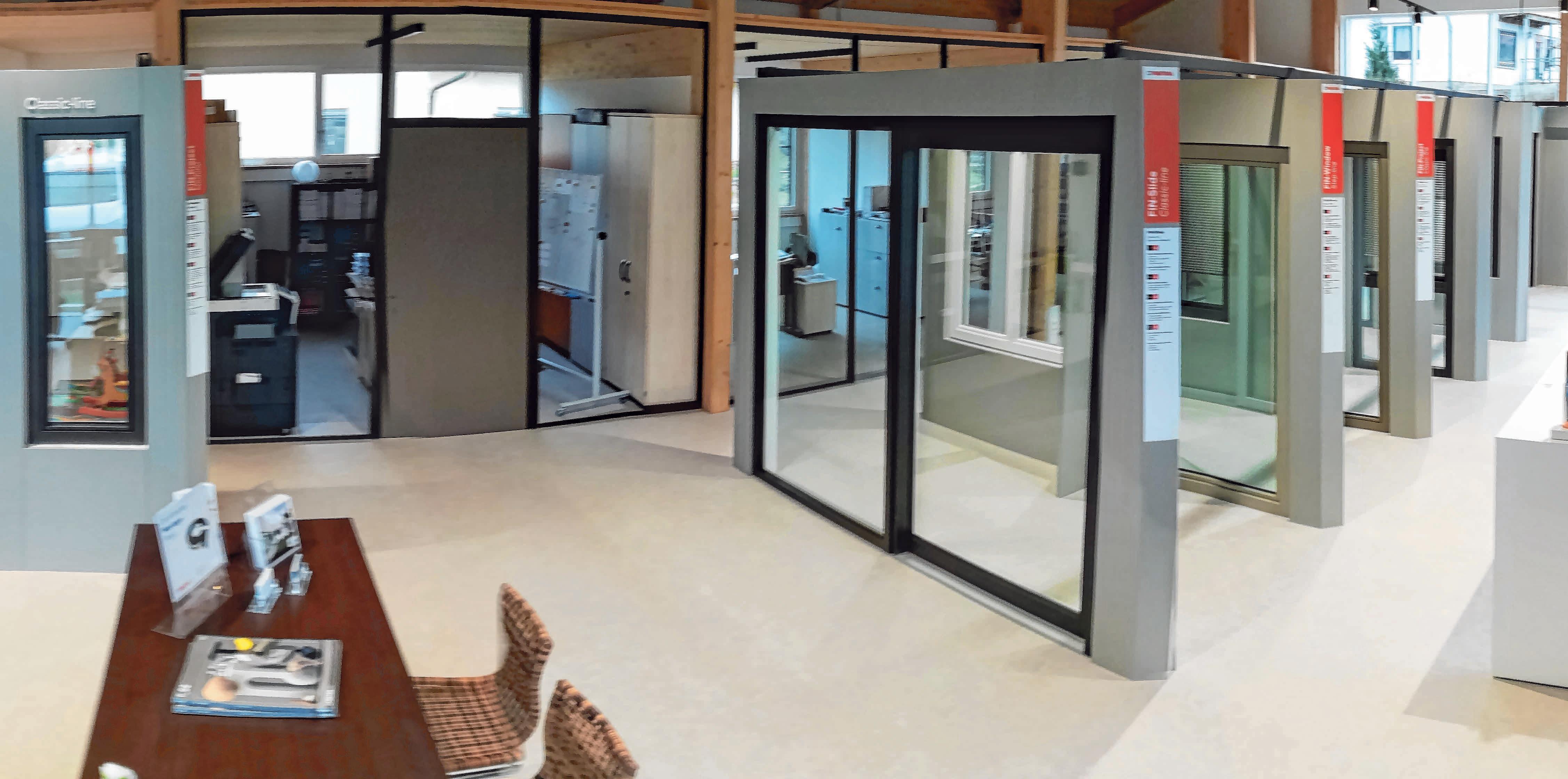 Die Verkaufs- und Bürofläche der Firma Stempfle erstreckt sich über 300 Quadratmeter. FOTOS: FIRMA STEMPFLE