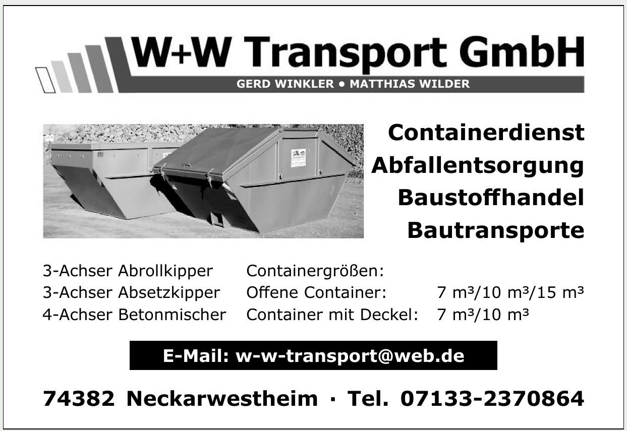 W+W Transport GmbH