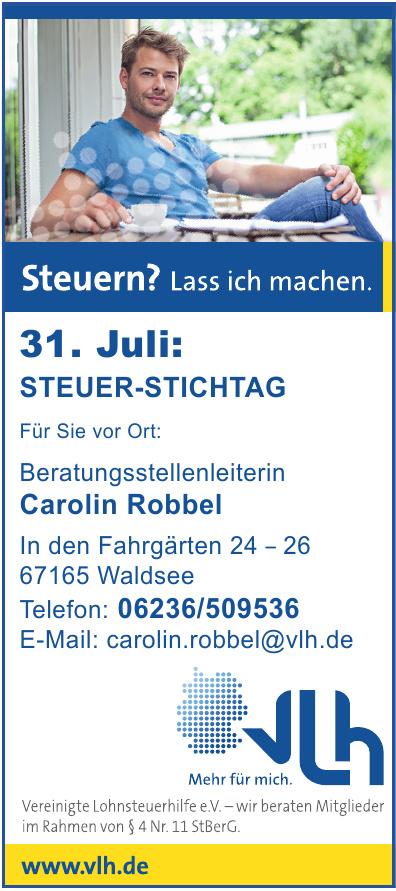 Vereinigte Lohnsteuerhilfe e.V. Carolin Robbel