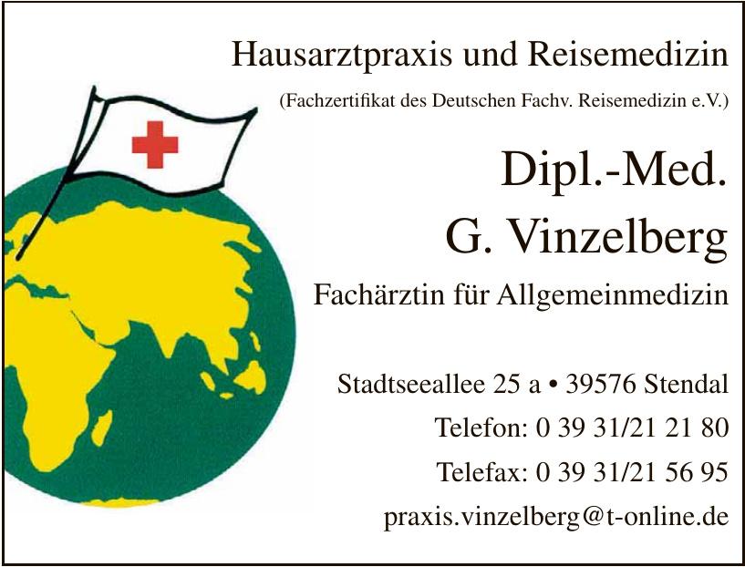 Hausarztpraxis und Reisemedizin - Dipl.-Med. G. Vinzelberg
