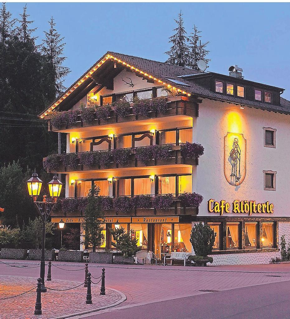 Unterkunft in traumhafter Lage: Das Hotel Hirsch im Schwarzwald.