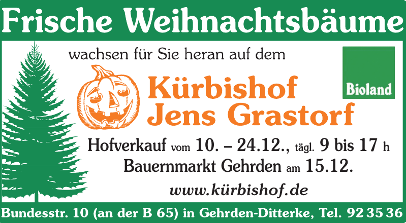 Kürbishof Jens Grastorf
