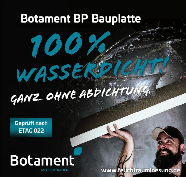 Botament BP Bauplatte