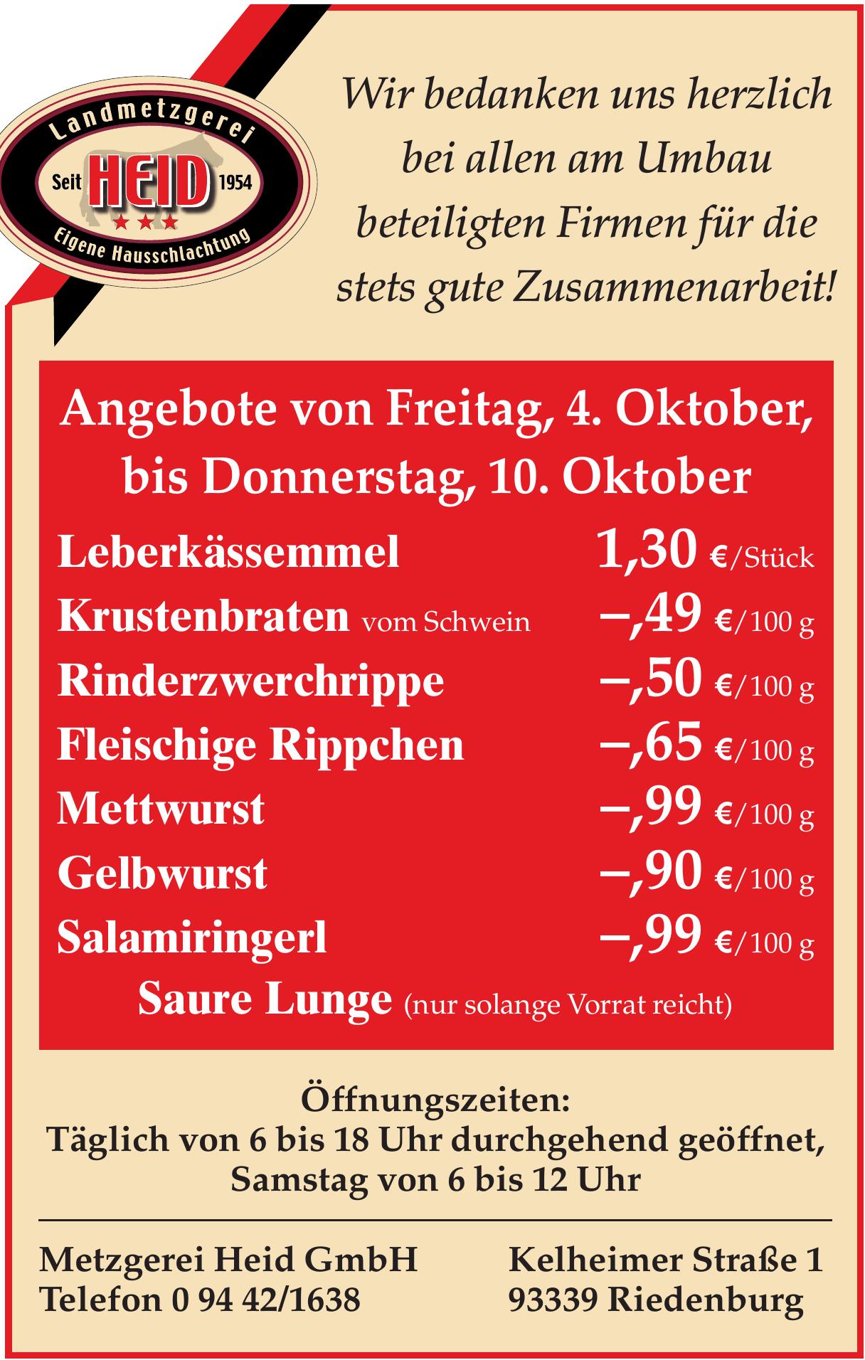 Metzgerei Heid GmbH
