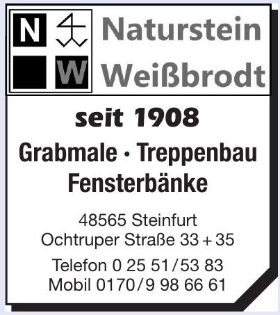 Naturstein Weißbrodt