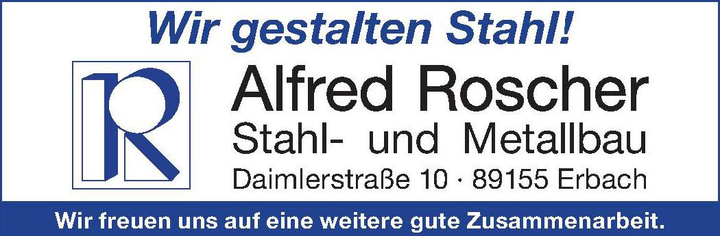 Alfred Roscher Stahl- und Metallbau