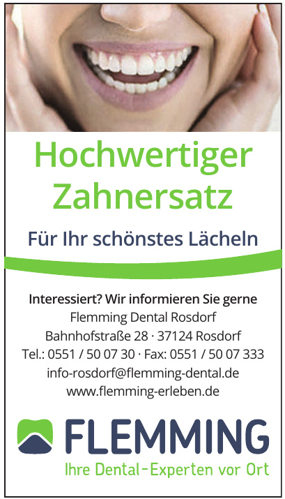 Flemming Dental Rosdorf
