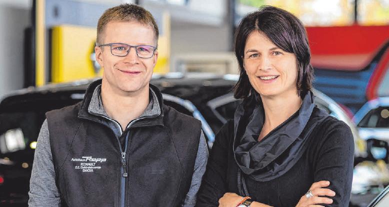 Jörg Rapp und Andrea Rapp-Kübler leiten das Unternehmen.