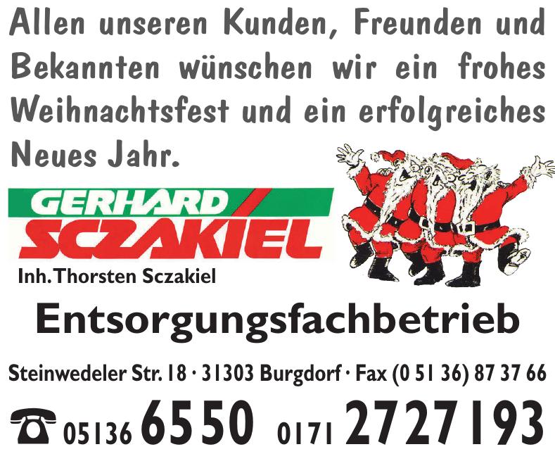Gerhard Sczakiel