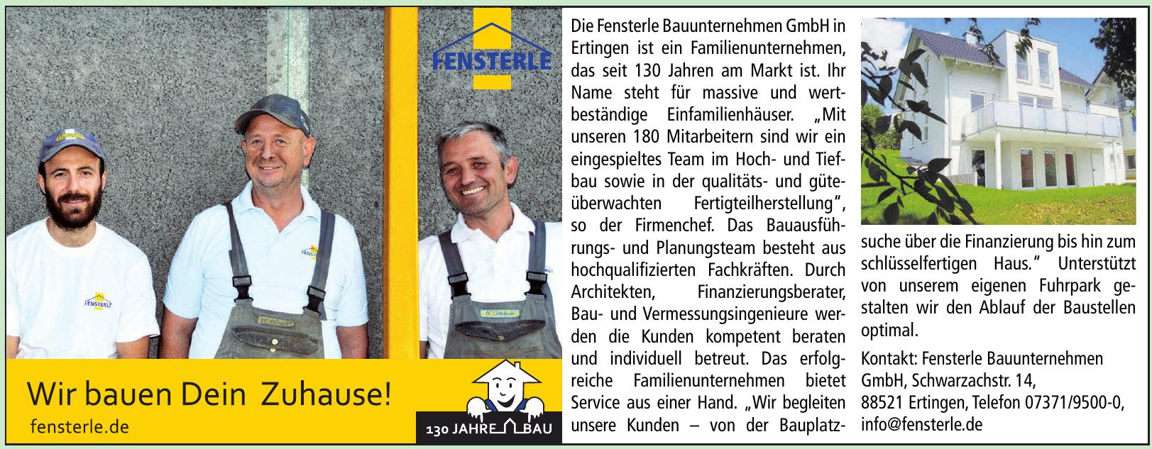 Fensterle Beton- und Fertigteilwerk GmbH