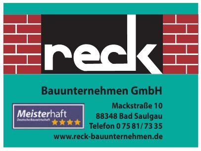 Reck Bauunternehmen GmbH