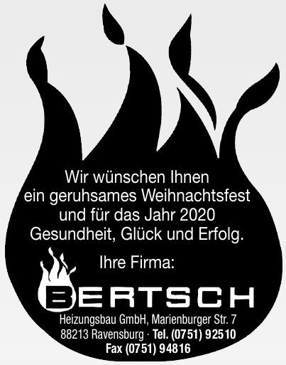Bertsch Heizungsbau GmbH
