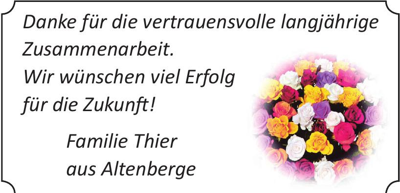 Familie Thier aus Altenberge