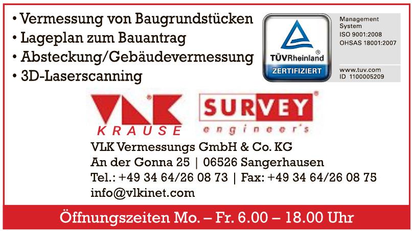 VLK Vermessungs GmbH & Co. KG