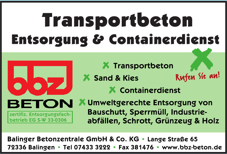 Balinger Betonzentrale GmbH & Co. KG