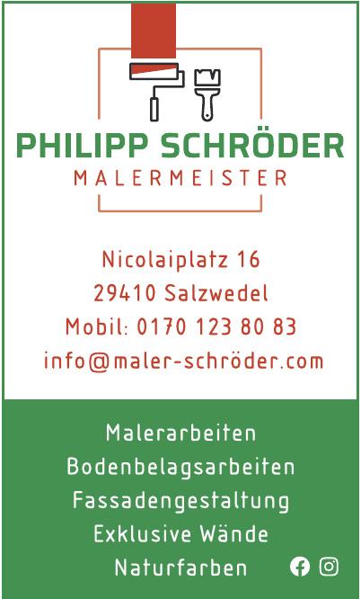 Malermeister Philipp Schröder