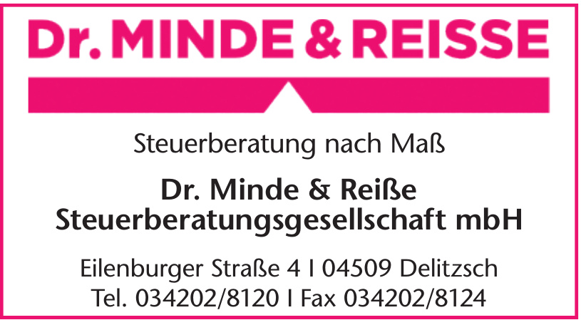 Dr. Minde&Reiße Steuerberatungsgesellschaft mbH
