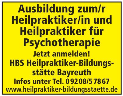 HBS Heilpraktiker-Bildungsstätte Bayreuth