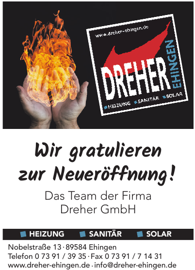 Dreher GmbH Heizung - Sanitär - Solar ?