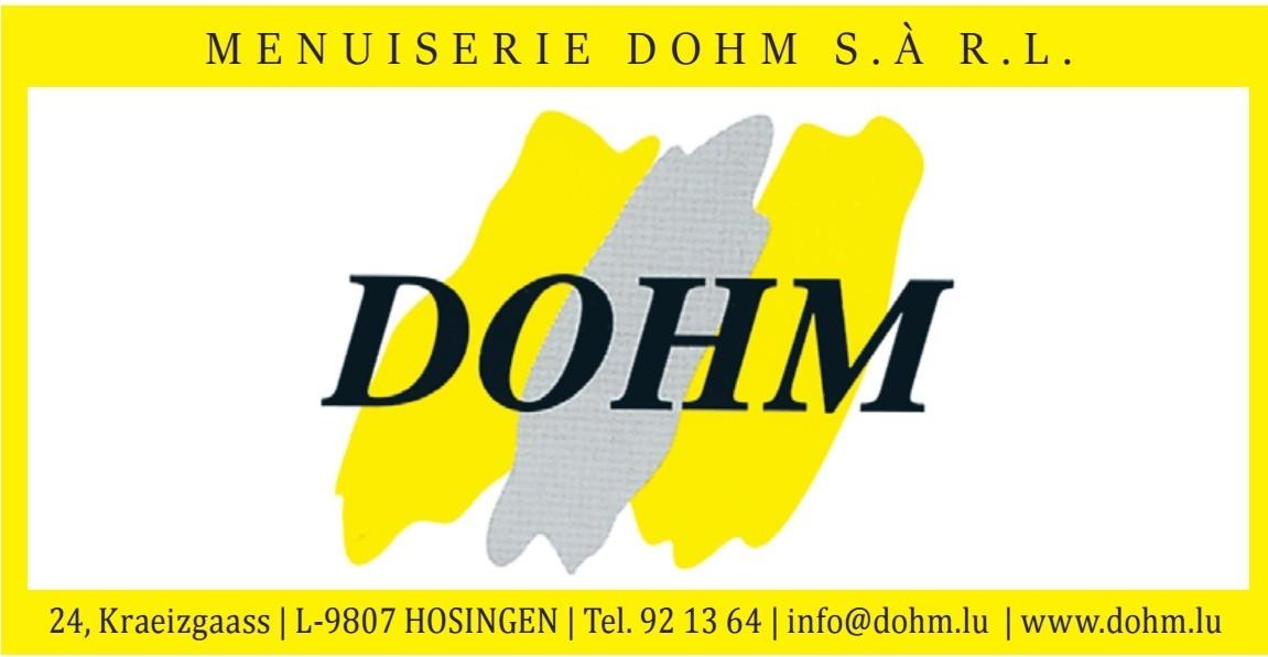 Menuiserie Dohm S.à.r.l.