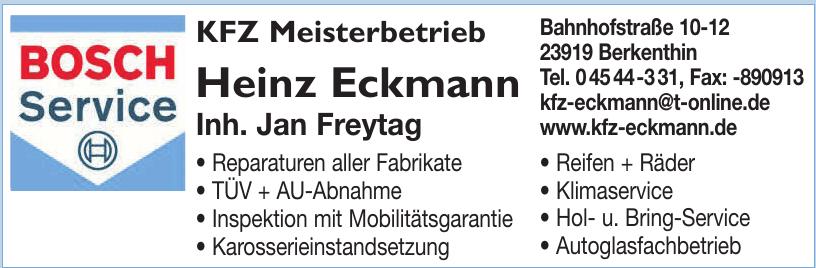 KFZ Meisterbetrieb Heinz Eckmann