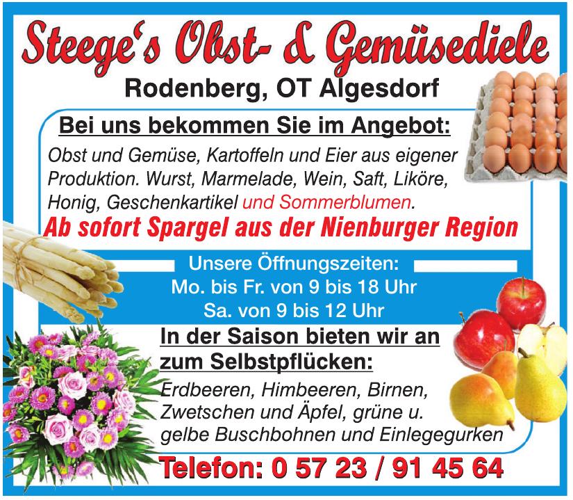 Steege´s Obst- & Gemüsediele Rodenberg