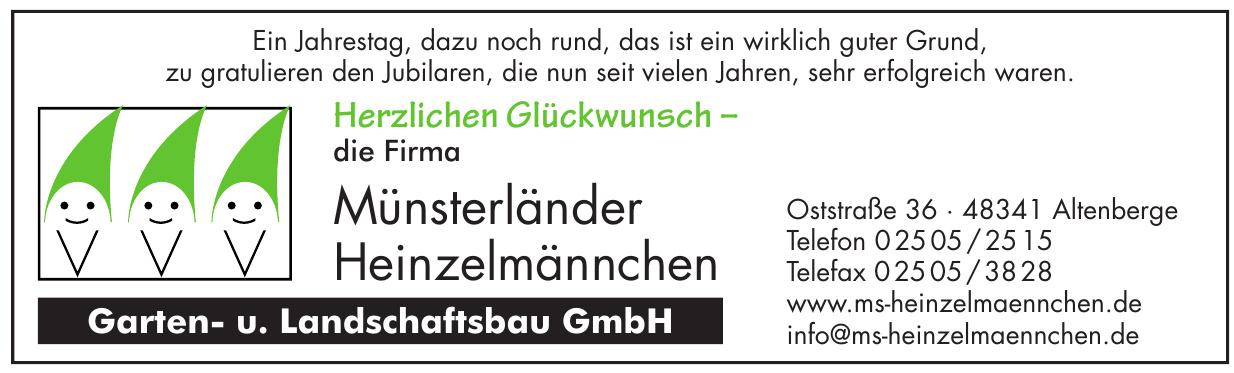 Münsterländer Heinzelmännchen Garten- u. Landschaftsbau GmbH